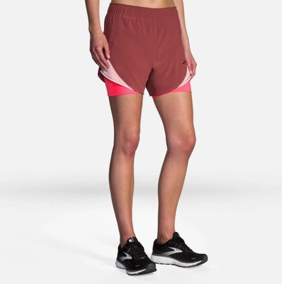 Brooks Pantaloncini Chaser 2 in 1 W